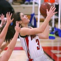 Homestead girls basketball team hangs on to beat Whitefish Bay, 44-36