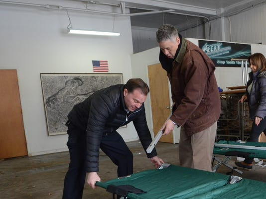 Passaic Cots for Homeless