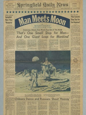 July 21, 1969, edition of the Daily News.