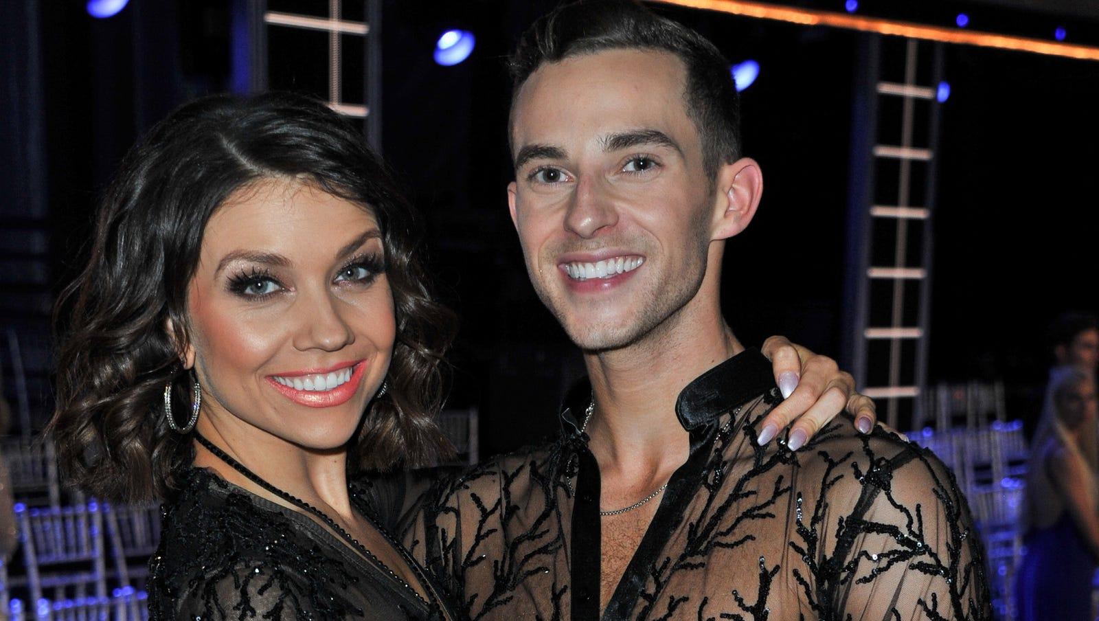 Adam Rippon Beats Tonya Harding Josh Norman In Dancing With The Stars