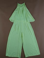 Neon jumpsuit, $72, Collections.