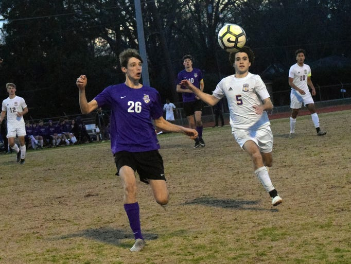 Alexandria Senior High School takes on Denham Springs