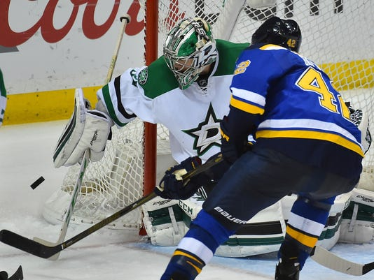 USP NHL: STANLEY CUP PLAYOFFS-DALLAS STARS AT ST. S HKN USA MO