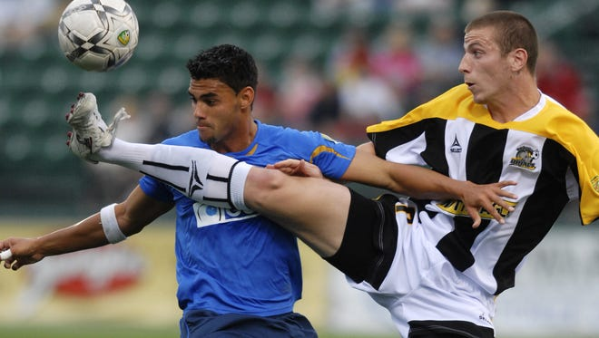 Matthew Delicate, who is still coming back from kidney surgery in June, played for the Rhinos for three seasons and scored 19 goals. He has 94 goals in nine-plus seasons for the Richmond Kickers.
