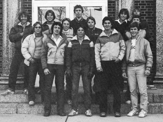 The boys 1981 soccer team had a 3-8 record. Senior