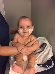 Henry Rogers, 10 months old, of Loveland needs a kidney