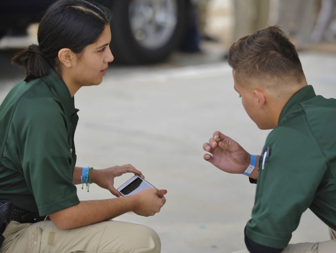 More than 400 Explorers were at the Tulare International