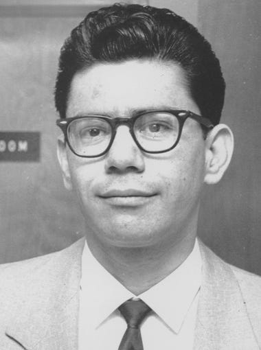 Ernesto Miranda was a Mesa man arrested and convicted of the kidnapping and rape of a 17-year-old girl. His conviction was later overturned in the landmark Supreme Court case Miranda v. Arizona.