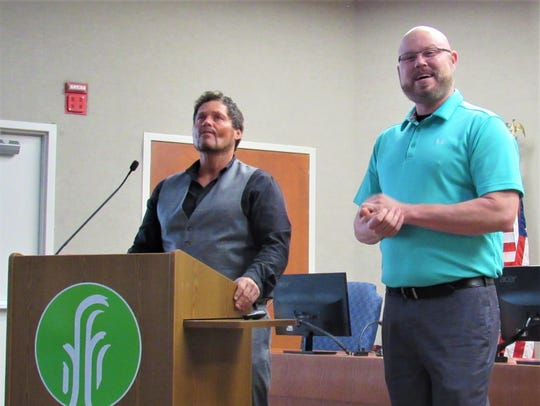 Speaking in Farragut at the recent Organized Retail