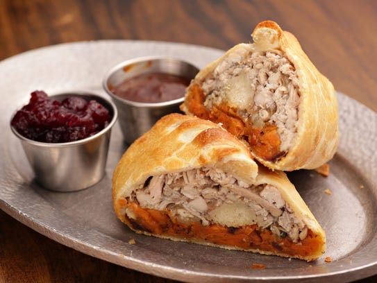 The original Cornish Pasty location serves pasties,