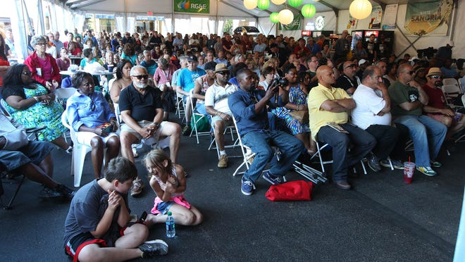 A large crowd gathered Tuesday to see Jimmie Highsmith Jr.'s performance at the Jazz Festival. Monroe County's population is slowing changing, according to new estimates from the Census Bureau.