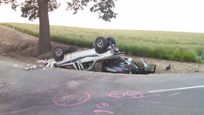 This crash took place Saturday at French Prairie and Mahony roads NE. Marion County deputies from the CRASH Team and Oregon State Police are investigating.