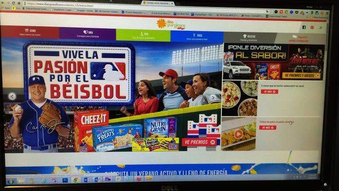Kellogg Co.'s Dias Grandiosos website.