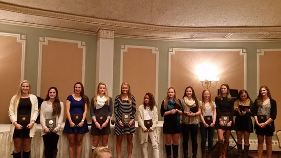 The entire Section 1 Elite 12 selections for the 2015 season.