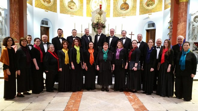 """The Caritas Chamber Choir will perform """"Ancient Prayers for Our Time"""" in Metuchen, Flemington and Spring Lake."""