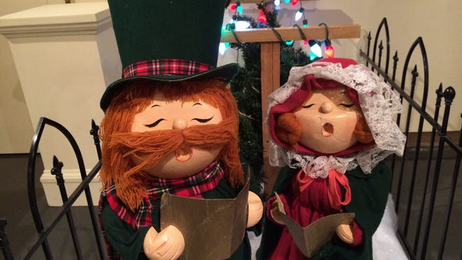 Figurines and scenes from downtown Green Bay's bygone era are among the artifacts featured in the Neville museum's holiday exhibit.