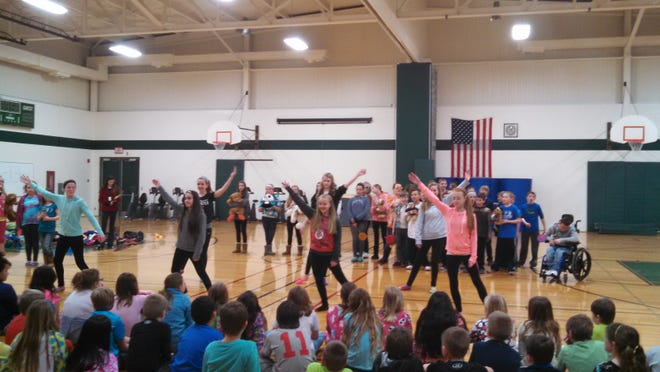 "On Friday, March 6, the South Park sixth-grade choir toured Jefferson, Smith, Green Meadow and Jacob Shapiro elementary schools to perform their mini-musical, ""I Need A Vacation!"""
