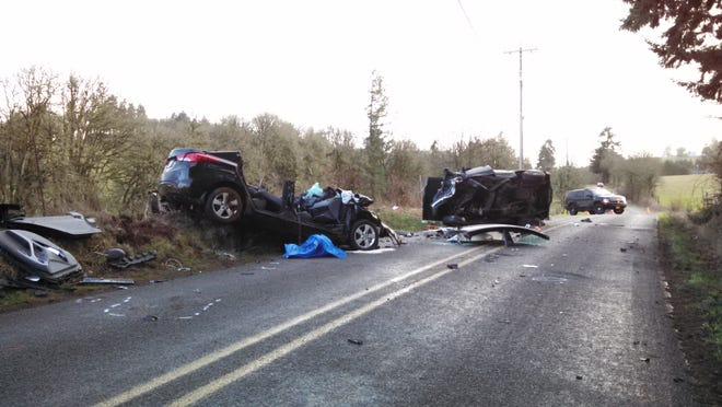 A crash that sent two to the hospital on Sunday afternoon is still under investigation.
