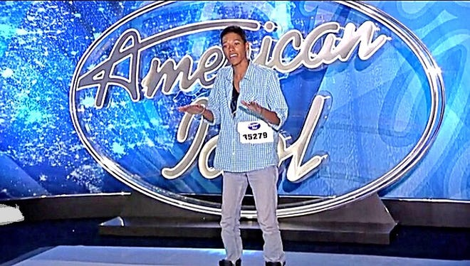 Cedric Arce competed for the American Idol singing competition and his portion could air Wednesday.