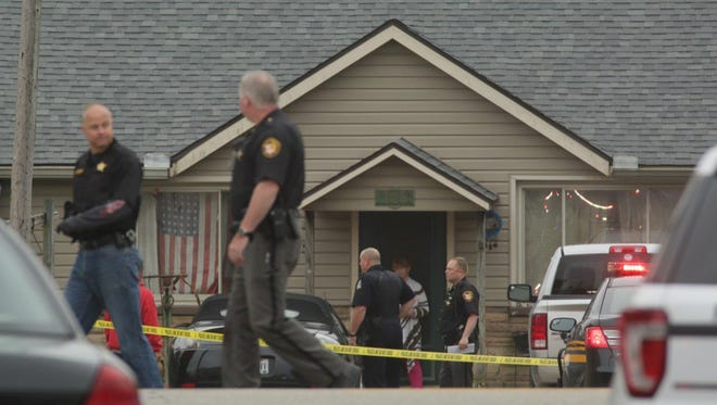 Authorities responded to the report of an active shooter situation Friday morning at the Pine Kirk Care Center, 205 E. Main St.