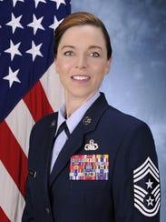 Chief Master Sergeant Juliet C. Gudgel