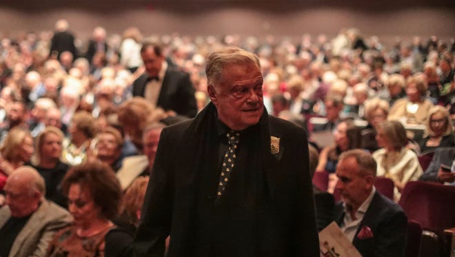 Board chairman Harold Matzner was honored at the McCallum Theatre's 30th anniversary gala on Thursday in Palm Desert.
