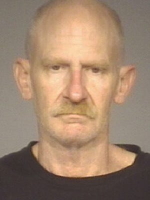 David Harris, 52, was charged with possession of explosives.