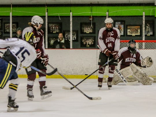 Carter Eiden (15) has 4 goals and 7 assists in 12 games,