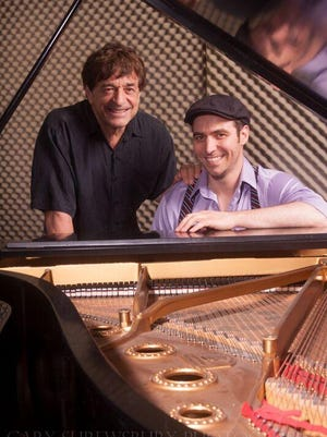 Bob Baldori, left, and Arthur Migliazza will perforn five high octane shows at the Peppermint Creek Theater Dec. 29 through New Year's Eve.