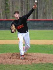 Barnegat's Jason Groome tossed a shutout to lead the Bengals into the Ocean County Tournament final.