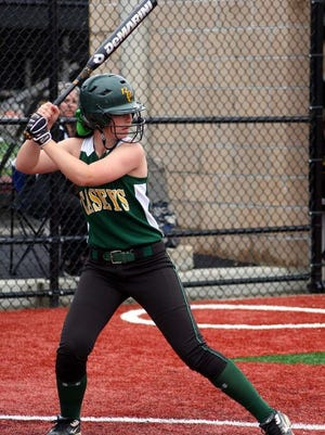 Red Bank Catholic catcher Tess Griswold.