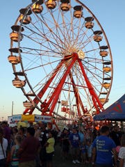 Huge crowds turned out for the annual Fort Campbell Independence Day Carnival and Fireworks Display last year.