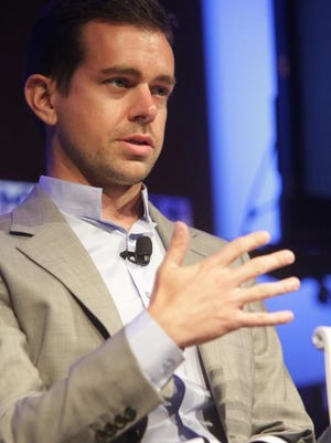 Jack Dorsey, founder of Twitter and Square, speaking during Techonomy Detroit conference in 2012, will speak again in Detroit this year.