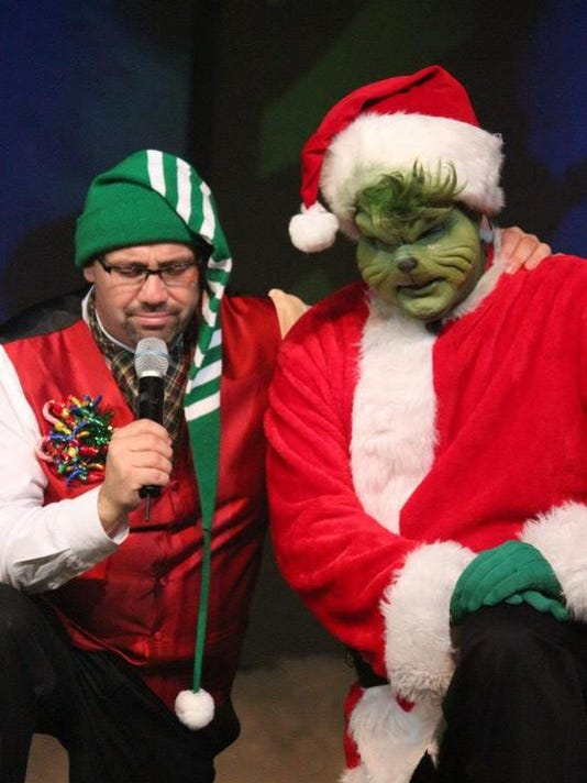Pastor and grinch