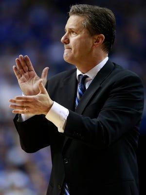 UK head coach John Calipari