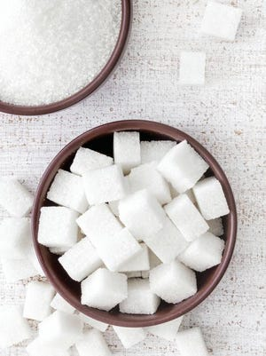 The Beverage Industry magazine's 2013 State of the Industry Report compared the amount of sugar found in some of America's top-selling beverages to the sugar found in common sugary snacks.
