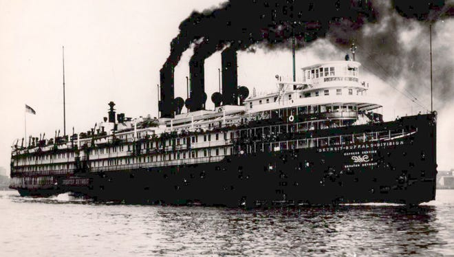 The Greater Detroit steamship.