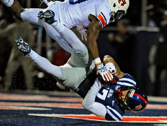 NCAA Football: Auburn at Mississippi