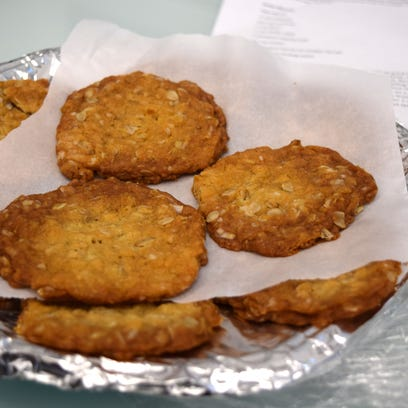 12 Days of Cookies - Day 4: Australian biscuits are deliciously chewy
