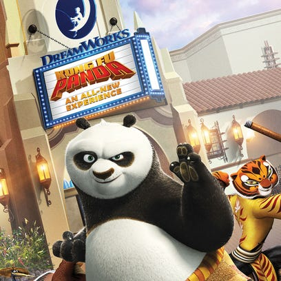 Kung Fu Panda attraction opens at Universal Studios Hollywood with high-tech special effects