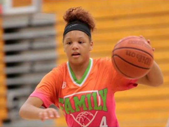 Cori Allen is a 5-foot-8 guard who will play on the