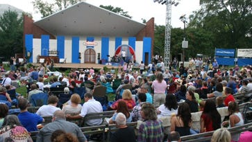 File photo: Shakespeare in the Park at the Centennial Park bandshell in Nashville.