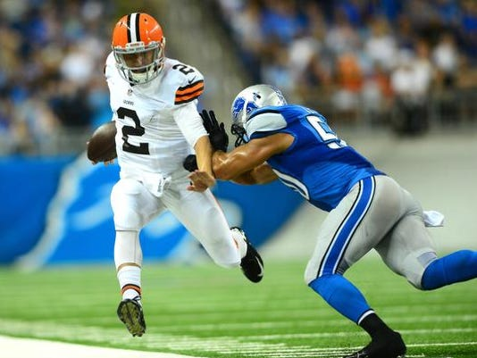 Browns Lions preseason 2014