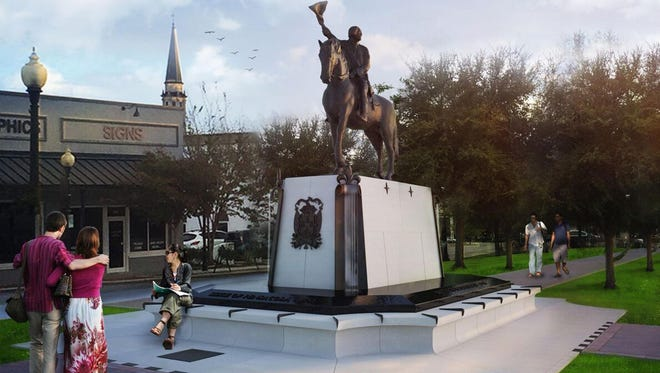 On May 8, the Pensacola Heritage Foundation will dedicate the Bernardo de Galvez monument in the median at Palafox and Wright streets.