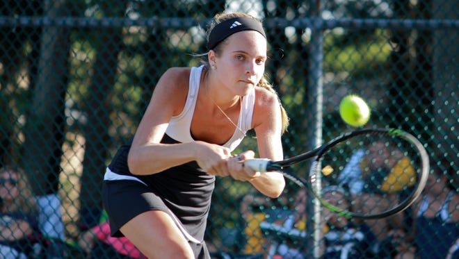 Shannon Young of Toms River East won her second consecutive Ocean County Tournament title.