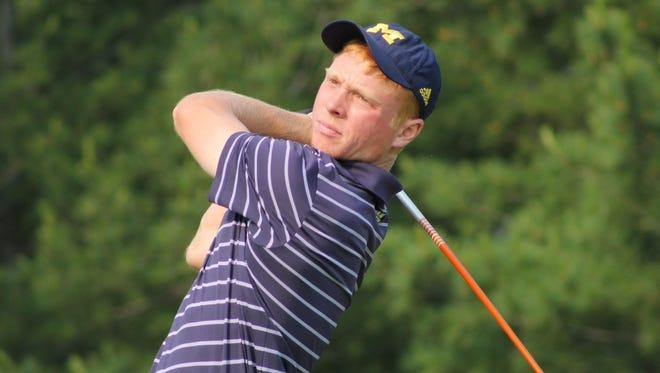 Reed Hrynewich at Michigan Open.