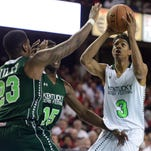 Action from the Kentucky Derby Festival Basketball Classic 2014. The 2015 game is Saturday.