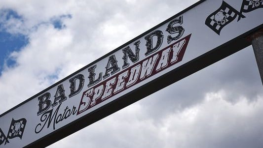 Badlands Motor Speedway Thursday, May 19, 2016, in Brandon, S.D.