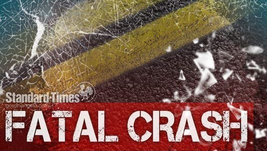 A 33-year-old man died after a motorcycle and a Dodge Charger crashed in San Angelo on Wednesday, March 3, 2021.