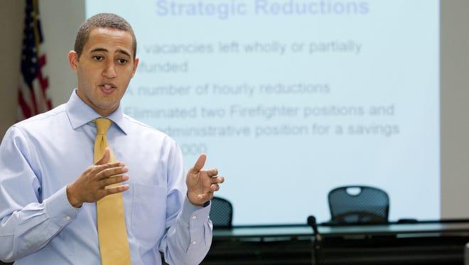 Mayor Svante Myrick City of Ithaca Mayor Svante Myrick outlines his 2013 budget.